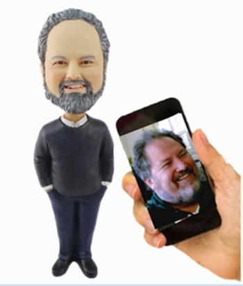 Custom bobbleheads doll for Dad