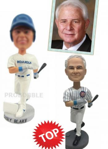 Baseball Player Custom Bobblehead