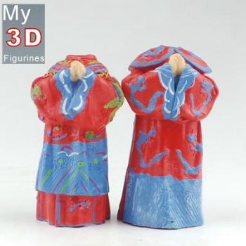 3d personalized bobbleheads Chinese wedding SR299