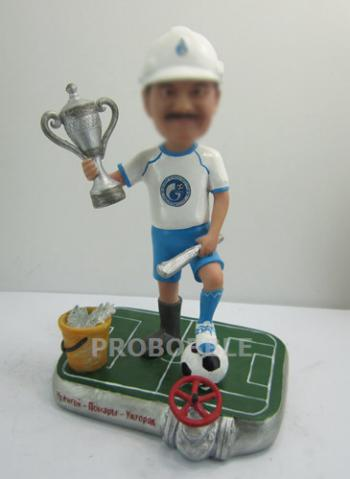 Personalized soccer Bobbleheads