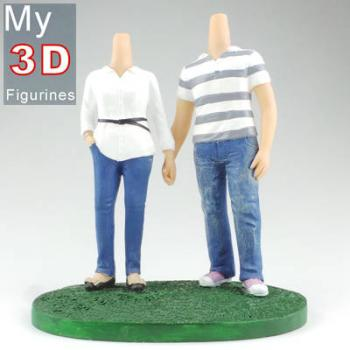 3d personalized bobbleheads couple SR279