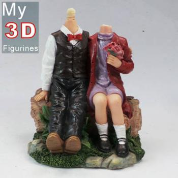3d personalized bobbleheads couple SR045