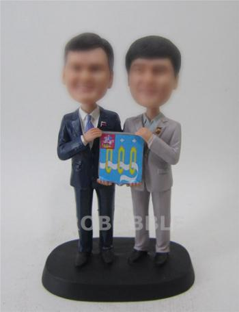 Male Gay Same Sex Cake Toppers