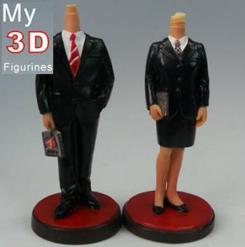 3d personalized bobbleheads couple SR040