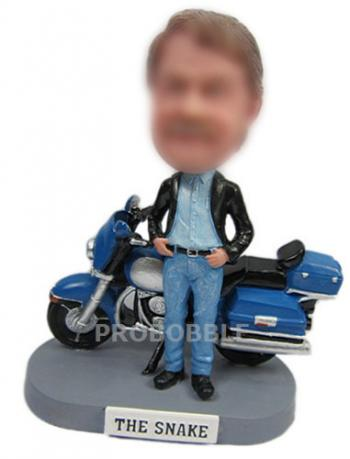 Motocycle bobblehbeads doll