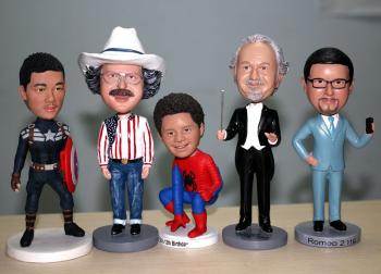 Single Custom bobbleheads gifts for boss & friends