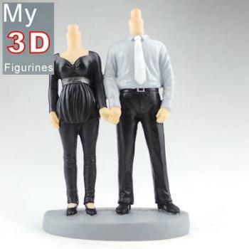 3d personalized bobbleheads couple SR264