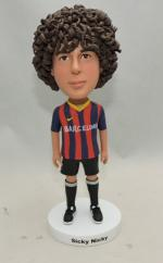 Custom bobblehead FC Barcelona world cup