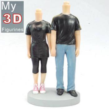 3d personalized bobbleheads couple SR066