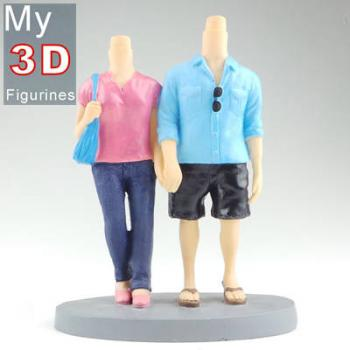 3d personalized bobbleheads couple SR295
