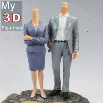 3d personalized bobbleheads couple SR053