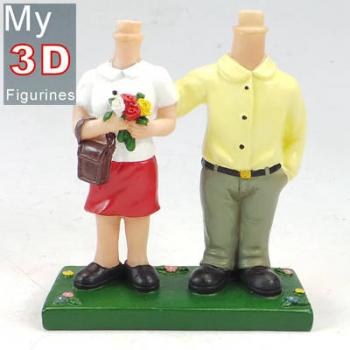 3d personalized bobbleheads couple SR067