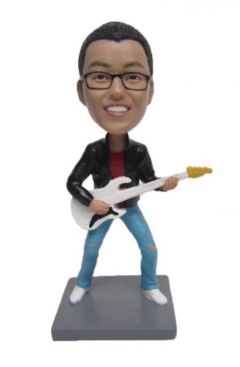 Make your Guitar Player Bobblehead