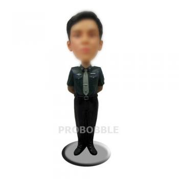 Bobbleheads Security Guard Police Officer