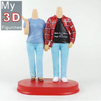 3d personalized bobbleheads couple SR133