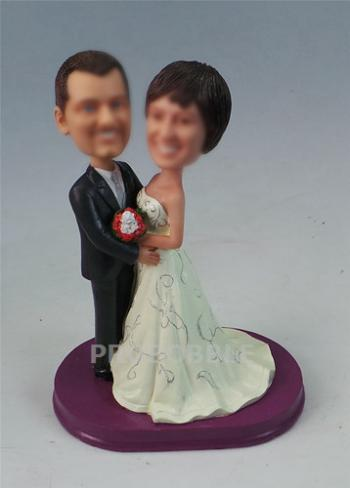 Custom Cake Topper Bobblehead