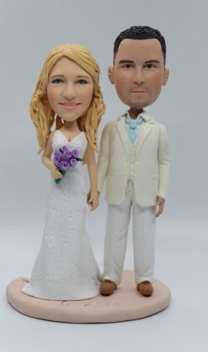 Cake topper gift for wedding