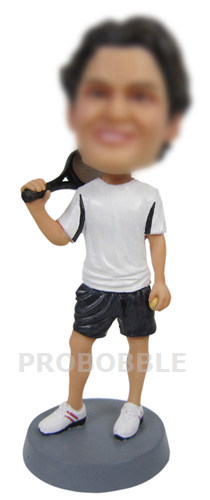 Male Tennis Bobbleheads