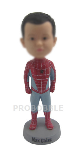 Custom Bobblehead Spiderman Boy