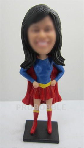 Custom Bobblehead Superwoman