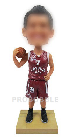 Personalized Basketball Player Bobblehead