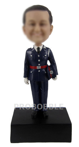 Custom Bobbleheads Police Officer
