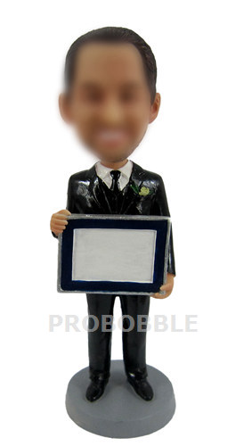Personalized Businessman Bobblehead