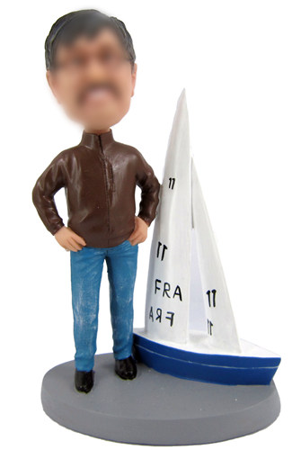 Personalized Sailing Boat Bobbleheads