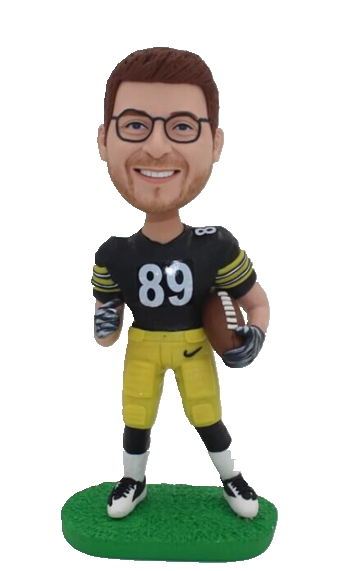 Custom Pittsburgh Steelers football bobblehead