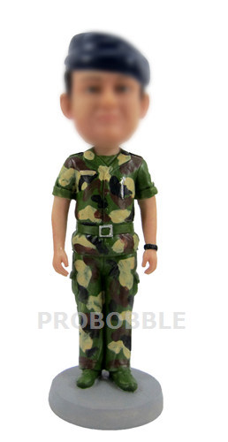 Land Army soldier Bobbleheads doll