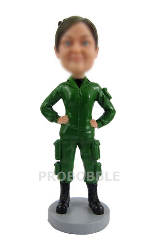 Custom Soldier Bobbleheads