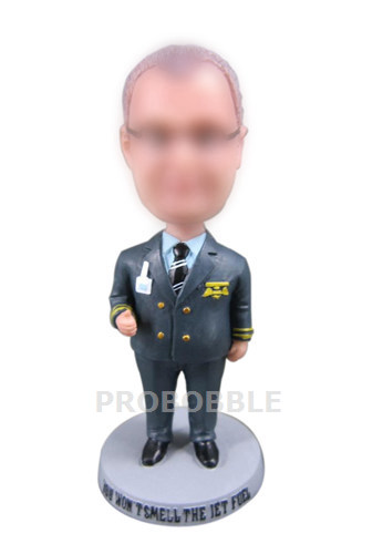 Personalized Bobblehead Doll Police Officer