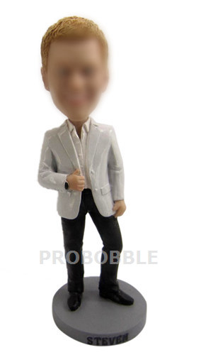 Custom Businessman Bobblehead Doll