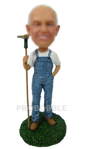 Golfer With Club Bobbleheads - Golf