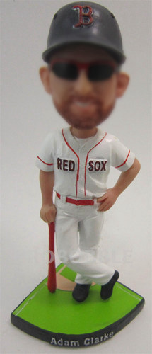 Cool Baseball Player Bobble Head Doll