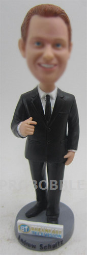 Male Business Executive Bobbleheads