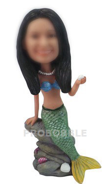 Mermaid Themed Bobbleheads Doll