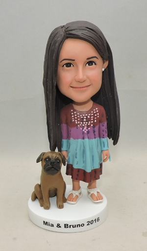 Custom doll for little girl and her dog