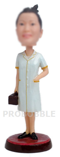 Custom Bobbleheads Female Doctor