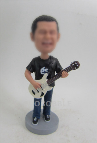 Guitar Player Bobbleheads - music