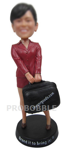 Custom Bobblehead Female Lawyer