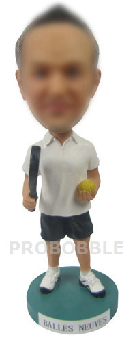 Personalized Tennis Bobble Heads