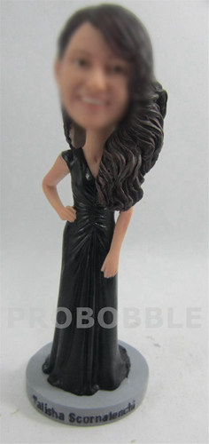 Custom Bridesmaid Bobblehead Doll