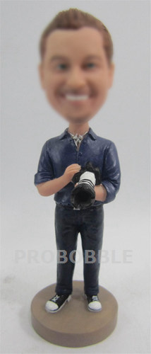 Photographer Custom Bobbleheads