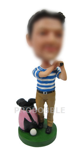 Custom Bobble Heads- Golf Doll