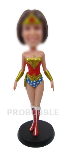 Custom bobblehead Wonder Woman Doll