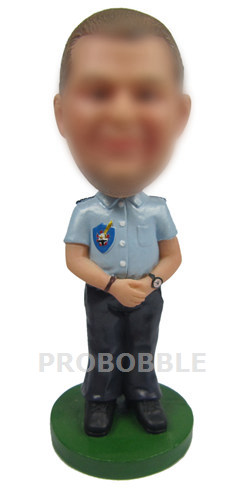 Personalized Bobbleheads Police