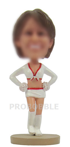 Custom bobbleheads Cheer leader