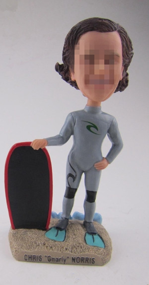 Personalized diver bobbleheads