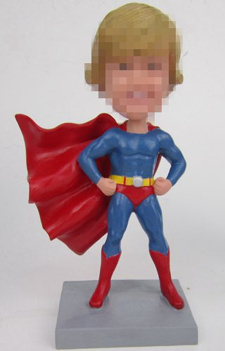 Custom superhero bobbleheads